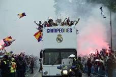 Así será la celebración del Real Madrid por las calles de la capital