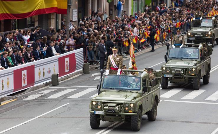 Un desfile espectacular