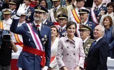 El desfile de las Fuerzas Armadas registra su mejor dato en 12 años