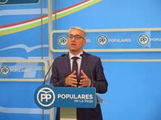 Garrido tacha de «irresponsable y falso» el discurso de PSOE y Cs en materia económica
