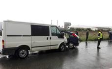 Un hombre resulta herido tras sufrir un accidente en Casalarreina