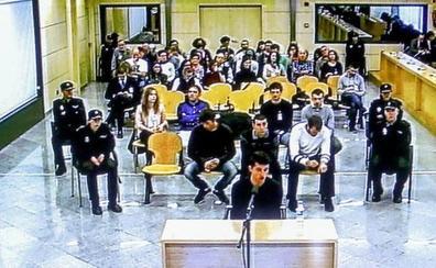 Condenados los acusados de Alsasua pero no por terrorismo