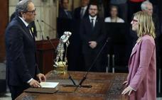 Torra ofrece diálogo a Pedro Sánchez y a la vez promete avanzar hacia la república