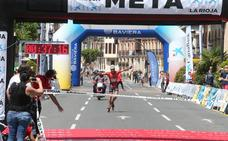 Media Maratón de Patines: La meta