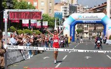 DIRECTO: Camilo Santiago gana su tercera Media Maratón de La Rioja