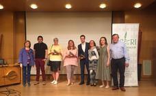 La Asociación de Celíacos reconoce a Esther Herranz, el Restaurante Iruña y Baños de Río Tobía