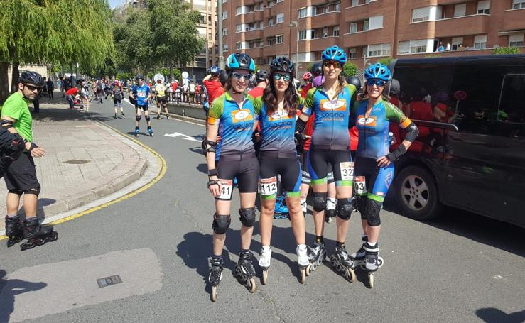 Media Maratón de Patines: La salida (II)