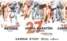 Las clasificaciones de la Media Maratón