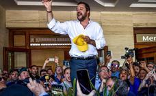 Salvini promete en Sicilia evitar que el país sea «el campo de refugiados» de la UE