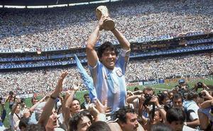 Maradona, el gran triunfo del '10'