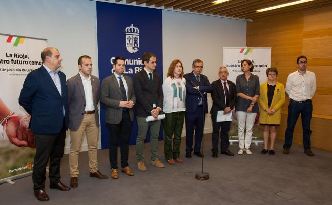 El diálogo entre generaciones y el futuro en común, ejes del Día de La Rioja