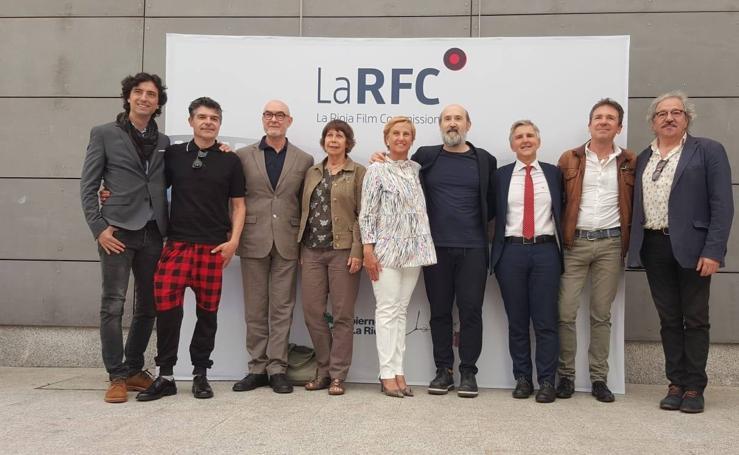 Caras muy conocidas en la presentación de 'La Rioja Film Commission'