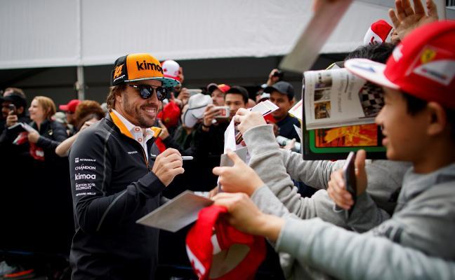 Un viaje de 10.000 kilómetros para Fernando Alonso