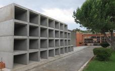 Alfaro dedica 42.800 euros para construir 80 nuevos nichos en el cementerio