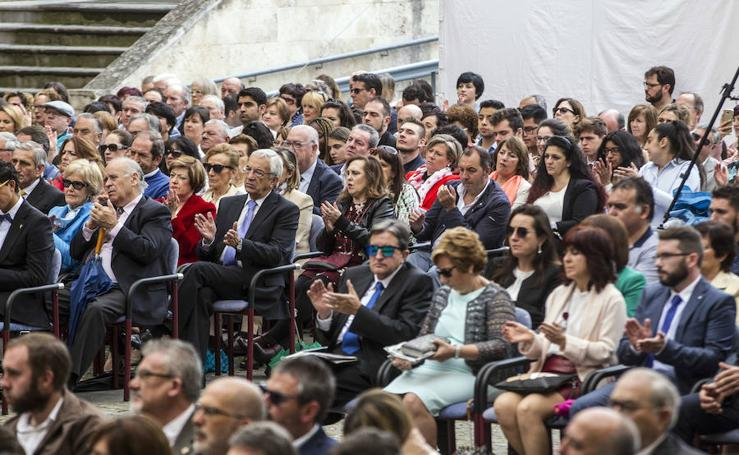 Público asistente a los actos del Día de La Rioja