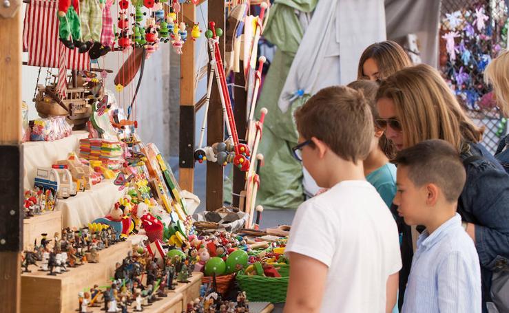 Mercado y mercaderes de San Bernabé