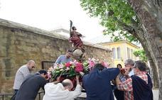 San Bernabé se da un paseo por Logroño