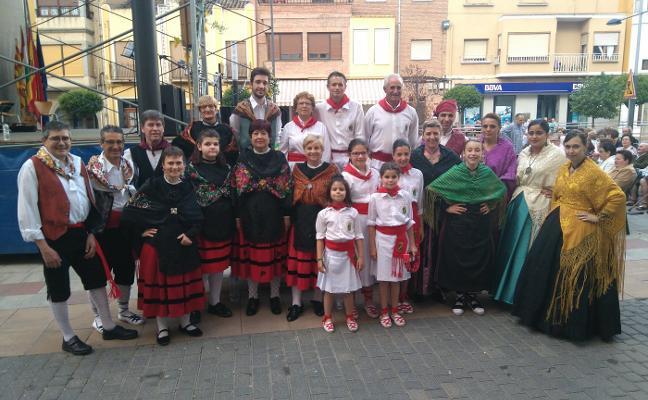 Rincón de Soto acogió ayer su festival de jotas