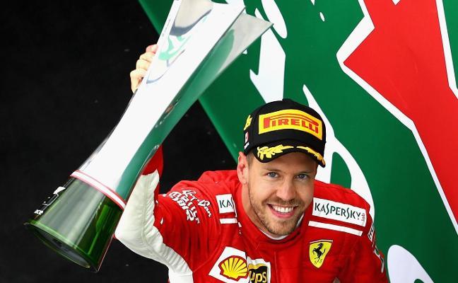 Sebastian Vettel vuelve a las andadas