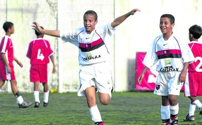 Thiago y Rodrigo, del mundialito del colegio al de verdad