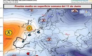 El viento del noroeste mantendrá a raya las temperaturas