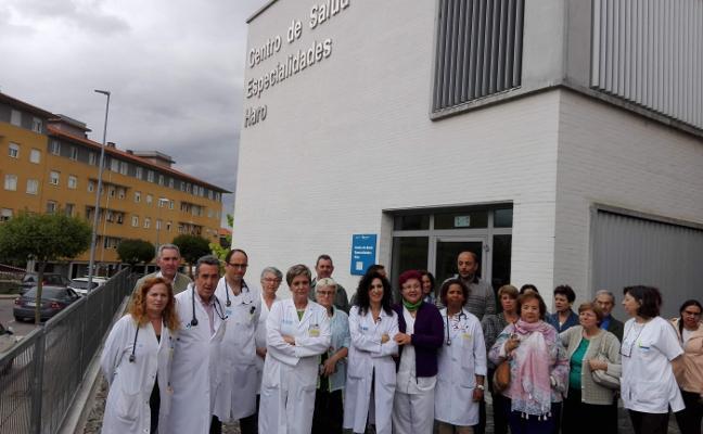 NUEVO PARO DE LOS MÉDICOS DEL CENTRO DE HARO