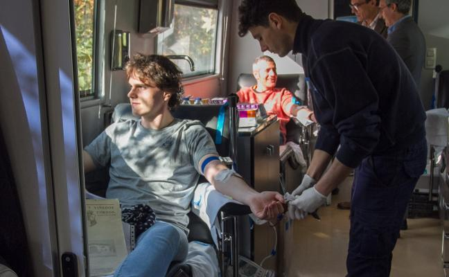 Las donaciones de sangre aumentaron el 2,52% en La Rioja el año pasado