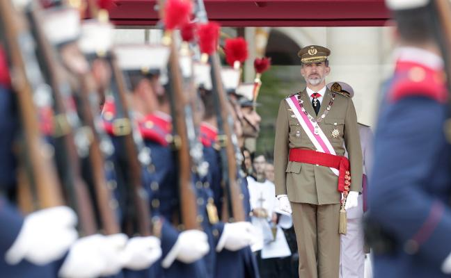 La sentencia no altera la agenda de Felipe VI