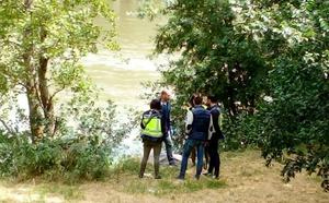 Un anciano aparece ahogado en el Ebro en Logroño