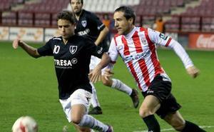 La UD Logroñés hace oficial la renovación de Caneda