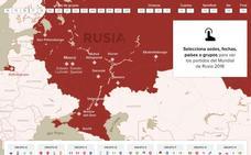 Calendario interactivo del Mundial: fechas, sedes...