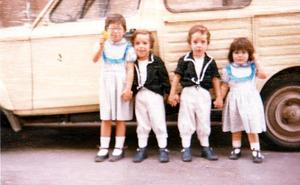 La Retina: Peñistas en las fiestas de San Bernabé