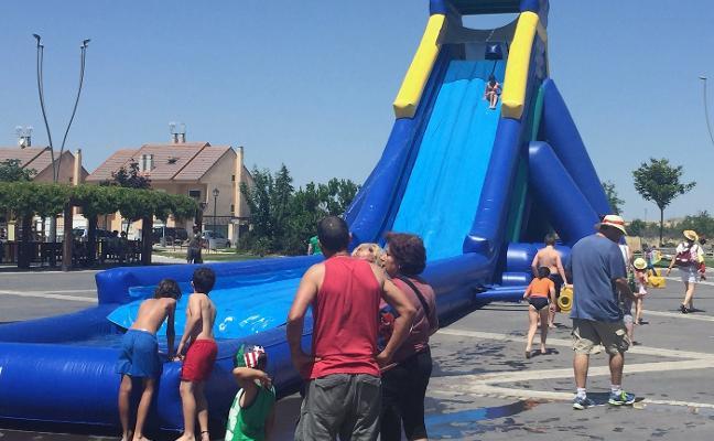 Las fiestas de San Juan y San Pedro de Nájera tendrán un tobogán gigante acuático