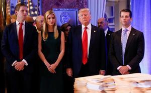 La Fiscalía de Nueva York desnuda la corrupción de la Fundación Trump