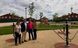 Obras de pavimentación en Cuzcurrita