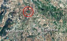 Un hombre resulta herido en Entrena tras salirse de la carretera