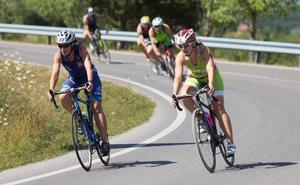 550 triatletas en el segundo Triatlón La Rioja