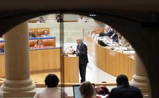 El Debate sobre el estado de la región se celebrará los días 5 y 6 de septiembre
