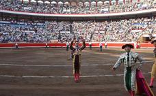 Urdiales entra en el cartel estrella de Bilbao con Enrique Ponce y 'El Juli'