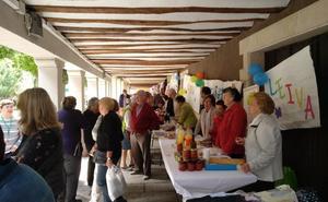 Mercado solidario en Santo Domingo de la Calzada