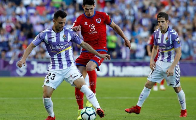 Hervías, a Primera con el Valladolid