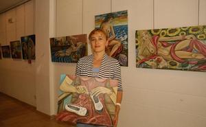Exposición de cuadros de Tamila Devadze
