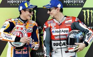 Primera 'pole' de Lorenzo con Ducati