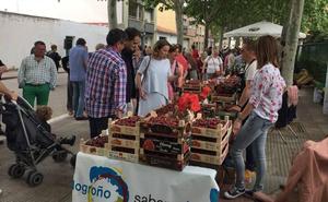 El mercado de Varea mantiene la tradición agrícola local y es un elemento de identidad local