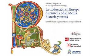 Cilengua acoge este lunes un curso de traducción durante la Edad Media