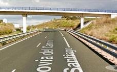 Un herido en un accidente en el Alto de San Antón y retenciones en el tráfico