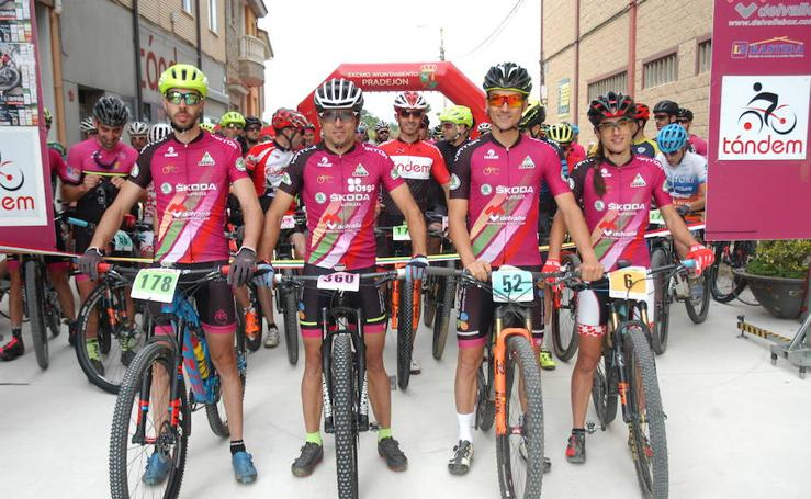 Ciclismo de montaña en Pradejón