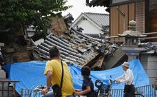 Un terremoto en la región japonesa de Osaka deja tres muertos y más de 200 heridos