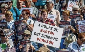 Los pensionistas riojanos mantendrán la manifestación hasta blindar las pensiones