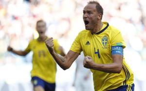 El VAR desatasca a Suecia
